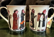 Monks Fine bone china mug